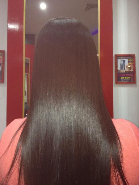 Hair Straightening Brazilian Keratin Amp Rebonding