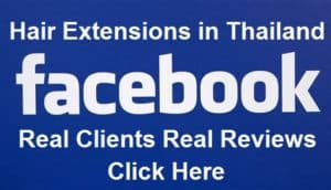 Facebook hair Extensions Thailand Fanpage